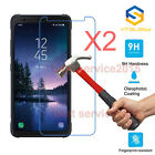 2x 9H+ Tempered Glass Screen Protector For Samsung Galaxy S5 S6 S7 S8 Active New