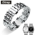 18 22 23 24MM Stainless Steel Watch Strap Curved End for TISSORT COUTURIER T035