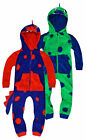 Boys Novelty Dinosaur Onezee Kids Animal All In One Costume New Age 2 - 6 Years