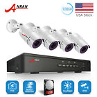 ANRAN 4/8CH POE Security System CCTV IP camera Home Surveillance NVR Kit 1TB HDD