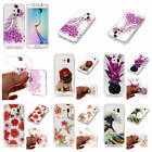 For Samsung Galaxy S6 Shiny Glitter Colorful Soft Shockproof Bumper Case Cover