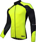 Funkier Force Long Sleeve Thermal Jersey. Yellow