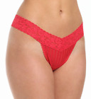 3 Pack Maidenform One Size Classic Rise Thong 40118 Red