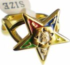 Eastern Star Symbol Ladies Ring