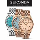 Sekonda Ladies Analogue Stainless Steel Women's Stylish Editions Wrist Watch