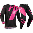 2018 Fox Racing 180 Mastar Black Pink Jersey Pants Motocross Gear Set Combo Mens