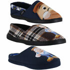 Mens Tetley Tea Novelty Mule Character Cushioned House Slippers Sizes 7 to 12
