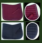 PONY Moisture Wicking Quilted DRESSAGE Saddle Pad crystal trim Bling -HORZE