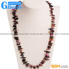 Freeform Natural Tourmaline Gemstone Handmade Finished Jewelry Necklace GBeads