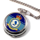 No. 608 Squadron Royal Air Force (RAuxAF) Pocket Watch (Optional Engraving)