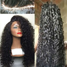 Women's Full Wigs Long Africa Curly Lace Front Synthetic Hair Wig Heat Resistant