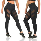 Women Pants Leggings Tight Package Hollow Perspective Yoga Sports Plus Fashion