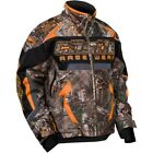 Castle X Men's Bolt Realtree G4 Orange Insulated Snowmobile Jacket 70-818X