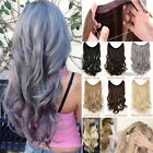 Real Natural Headband Invisible Wire Hair Extensions Hair On 100% As Human Hair