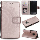 iPhone X Galaxy Note 8 Flip Wallet Case Handy Tasche Schutz Hülle Magnet Cover