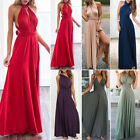 Long Chiffon Bridesmaid Formal Ball Gown Party Cocktail Evening Prom Dresses