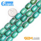 Column Gemstone Old Natural Turquoise Jewelry Making Stone Loose Beads 15""