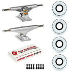 Independent Trucks Ricta SKATEBOARD 92a Clouds Wheels PACKAGE Abec 5 Bearings
