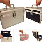 Beauty Make up Nail Tech Cosmetic Box Vanity Case Set Make up Kit Mirror Large
