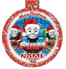 THOMAS the TRAIN Personalized Christmas Ornament Any Name/Message FREE Ship