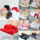 Baby Kids Girl Lace Ruffle Frilly Ankle Socks Princess Bowknot Cotton Short Sock