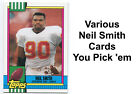 Neil Smith Cards - Nebraska Cornhuskers / Kansas City Chiefs -> You pick 'em $0.99 USD on eBay