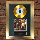 GOLD DISC GEORGE MICHAEL Faith Album Signed Autograph Mounted Repro A4 #106