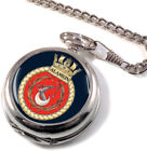 HMS Alamein Full Hunter Pocket Watch