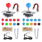 Arcade Game Replacement Kits Zero Delay Push Buttons Joystick USB Encoder Board