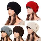 Women Men Winter Warm Ski Knitted Crochet Baggy Beanie Hat Cap Beret #F8s