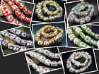 15MM Handwork Lampwork Glass Squre Spacer Beads Jewelry 25PCS GS1513