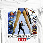 James Bond T-shirt 007 For Your Eyes Only retro vintage 1970's movie tee shirt $19.99 USD