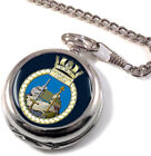 HMS Dumbarton Castle Full Hunter Pocket Watch