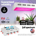 600-1500W LED Grow Light Full Spectrum Veg Flower Indoor Plant for Hydroponic