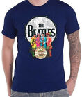 THE BEATLES Sgt Peppers Lonely Hearts Club Band Drum Blue T-SHIRT OFFICIAL MERCH
