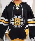 BOSTON BRUINS CCM BLACK MENS  HOODY NEW WITH $85 TAGS PICK SIZE