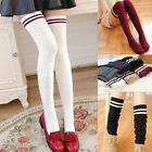 Women Cable Knit Extra Long Boot Socks Over Knee Thigh Stocking Soft Warm Winter