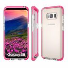 Shockproof Soft TPU Bumper Crystal Clear Case Cover For Samsung Galaxy S8 Plus