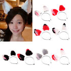Faux Fox Fur Cat Ears Costume Party Fancy Girls Hair Band Clip Headband Cosplay