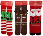 MOMENTUM 1 Pair CREW SOCKS Christmas HAPPY HOLIDAYS Various Sizes *YOU CHOOSE*