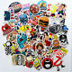 10/50/100X Mix Stickers Racing Motocross Motorcycle Car Bike Helmet Home Decal