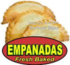 Empanadas Fresh Baked DECAL (CHOOSE YOUR SIZE) Food Truck Concession Sticker