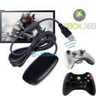 xbox wireless pc - XBOX 360 Wireless Gaming Receiver Adapter for PC STEAM Wireless Controller USB