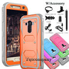 For LG Stylo LS770 / G4 Stylus Hybrid Shockproof Silicone Hard Phone Case Cover