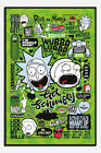 Rick And Morty Quotes Poster New - Maxi Size 36 x 24 Inch