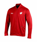 UNDER ARMOUR® Men's XL Wisconsin Badgers Knock Out Jacket NWT $100