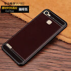 For Huawei GR3, Full Cover Shockproof Leather Pattern Soft Rubber Back Skin Case