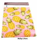 50 PINEAPPLE DESIGNER 6 x 9 MAILER POLY BAGS MAILING PLASTIC BAGS Des: 9