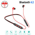 For Samsung iPhone LG Wireless Bluetooth Stereo Headset Headphone Sport Earphone