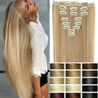 Cheap Price 8pcs Full Head Clip in remy Hair Extensions Real as human Hair HG61